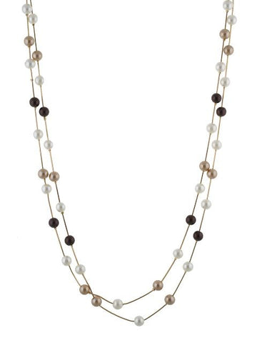 Copper and Gold colour Western design Necklace