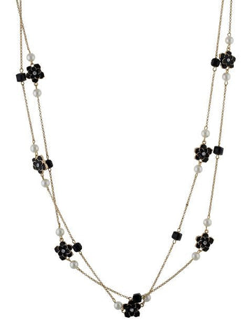 Black and White colour Western design Necklace