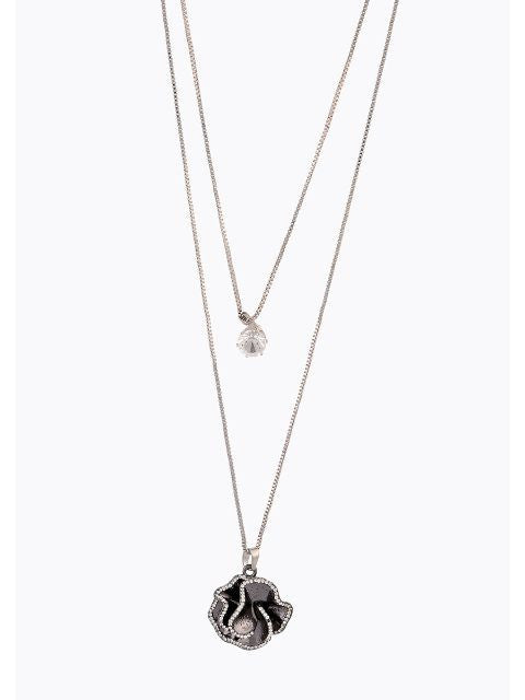 Grey colour Western design Necklace