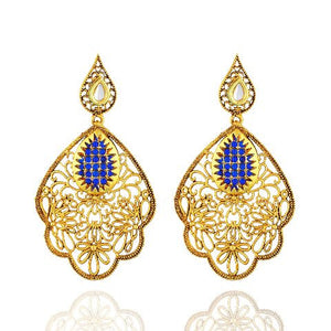 Blue  colour Earring
