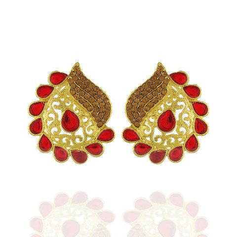 Red colour Earring
