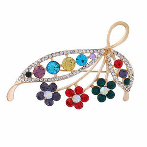 Multicolour colour Brooch