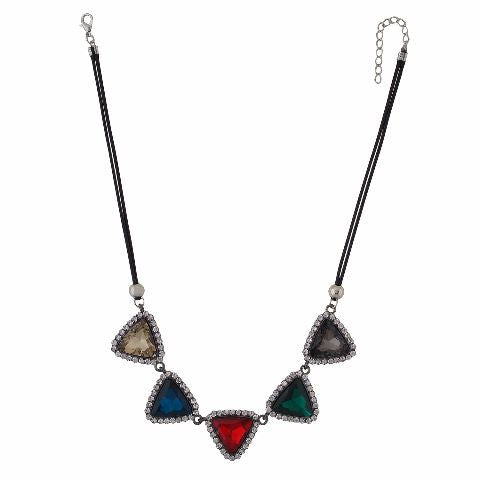 Multicolour colour Western design Necklace