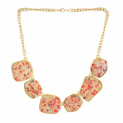 Beige colour Western design Necklace