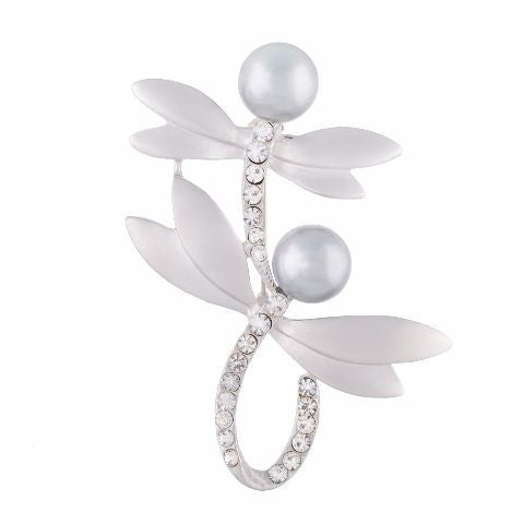 Silver colour Brooch