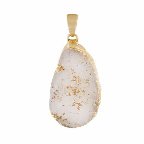 White colour Traditional design Pleasing Pendant