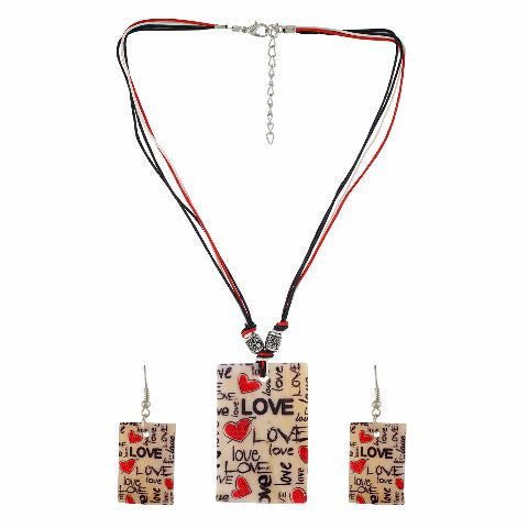 Multicolour colour Western design Necklace Set