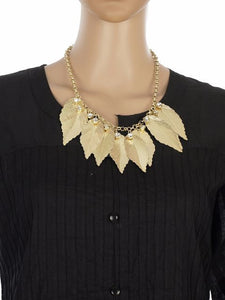 Gold colour Western design Necklace