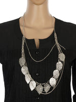 Load image into Gallery viewer, Silver colour Western design Necklace