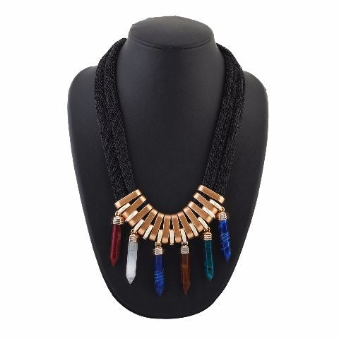 Pencil Shape colour Western design Necklace