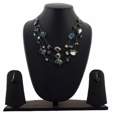 Grey colour Western design Necklace Set
