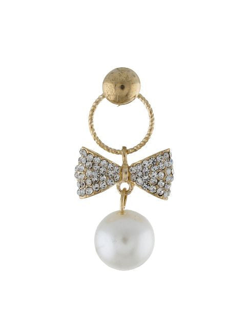 Gold colour Pearl Earring