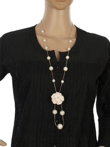 White colour Western design Necklace