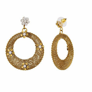 Gold colour Earring