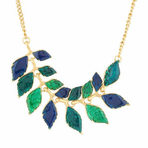 Blue colour Western design Necklace Set