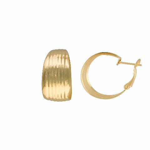 oval colour oval shape smart carving Earring