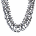 Load image into Gallery viewer, Grey colour Western design Necklace Set