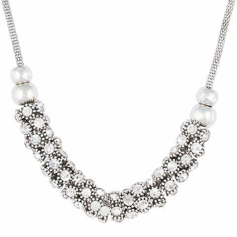 Silver colour Western design Necklace