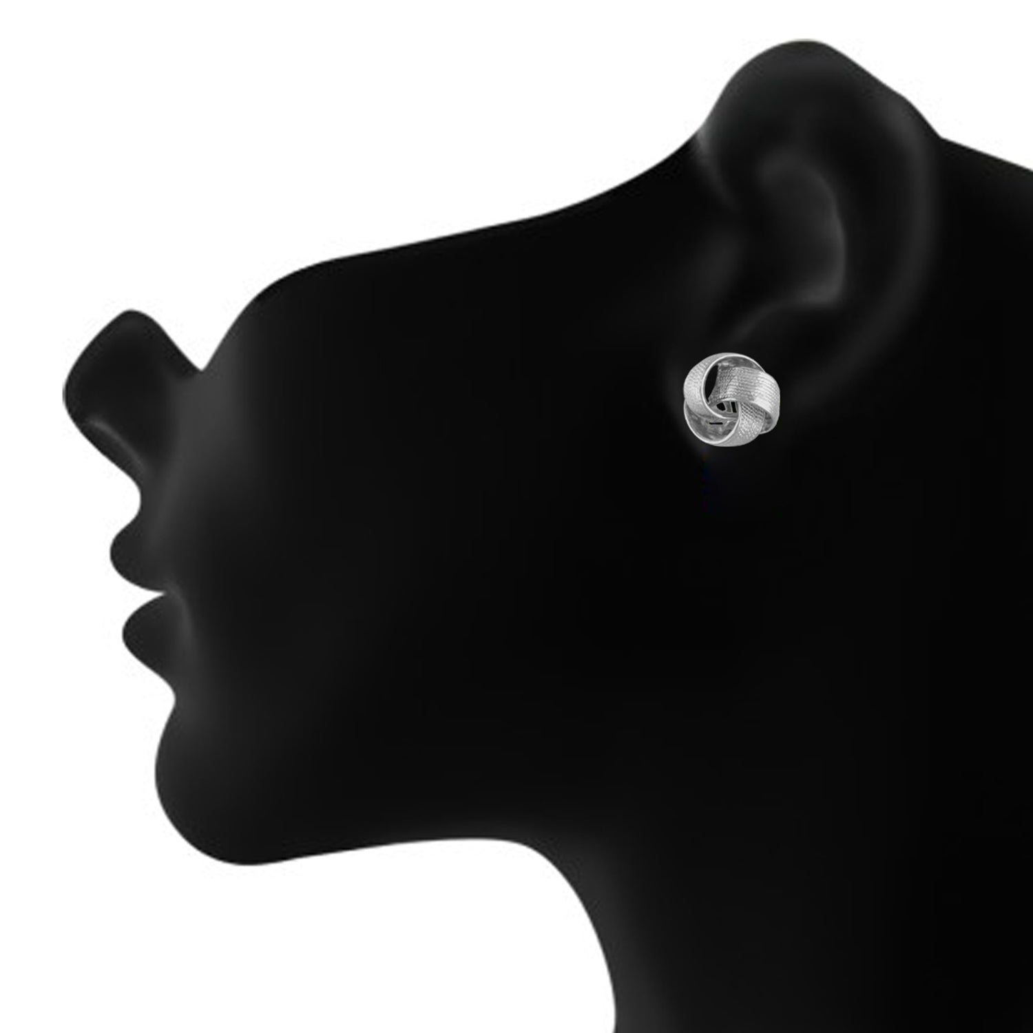 Stunning Silver Colour Alloy Clip On Earrings for Girls