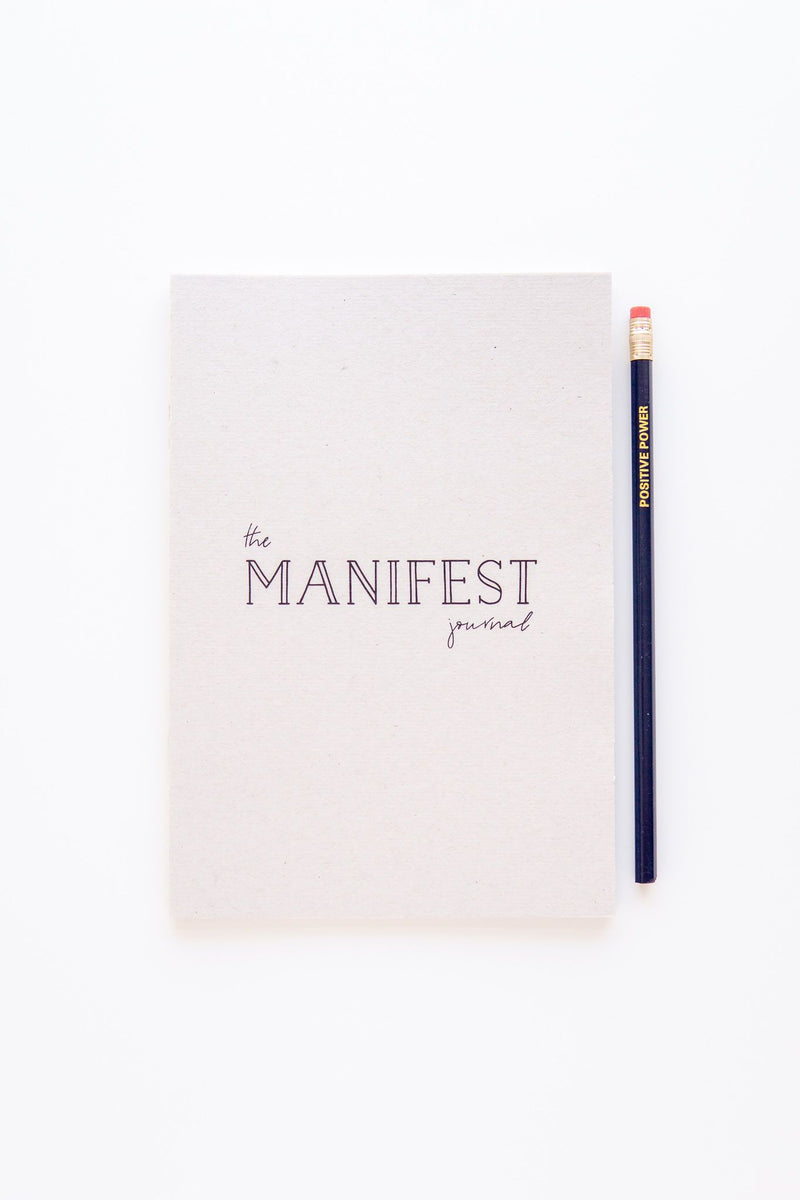 The Manifest Journal A5 notebook & Pencil Set