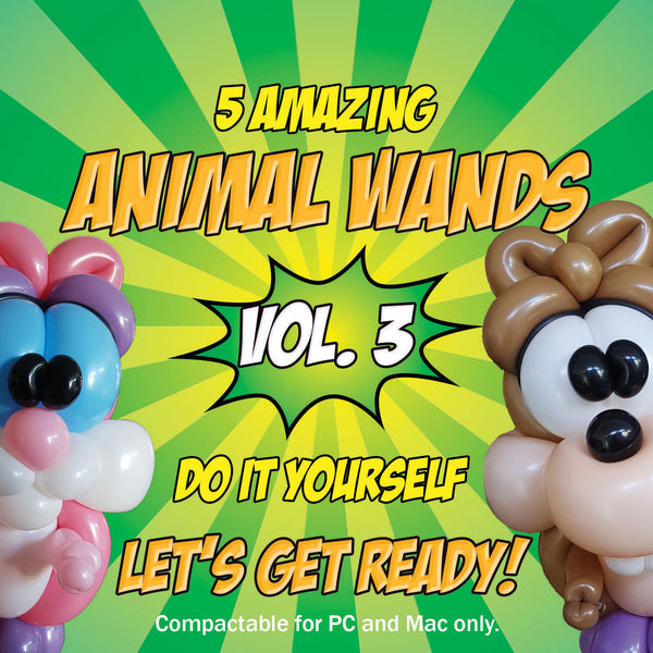 ANIMAL WANDS VOL 3