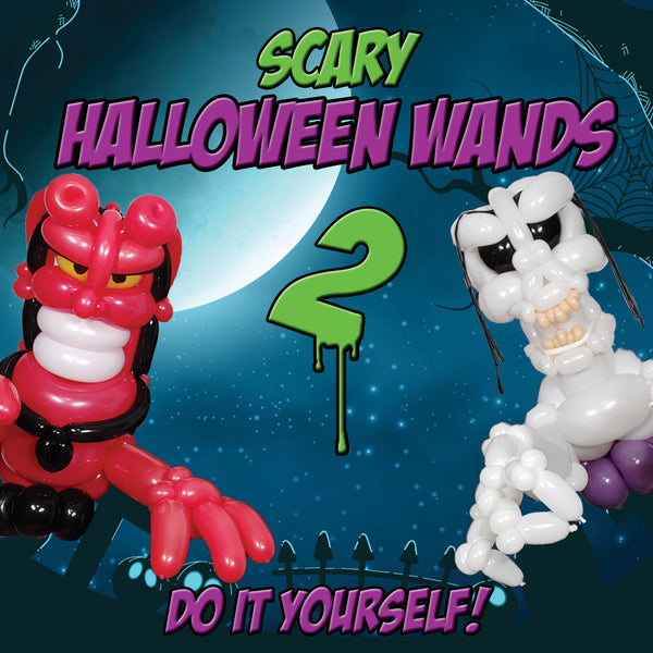 HALLOWEEN SCARY WANDS 2