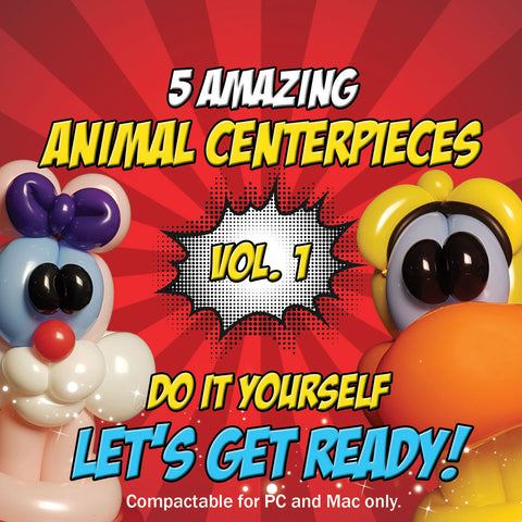 ANIMAL CENTREPIECES VOL1