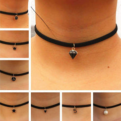Vintage Gothic Choker Necklaces - FluxClothings