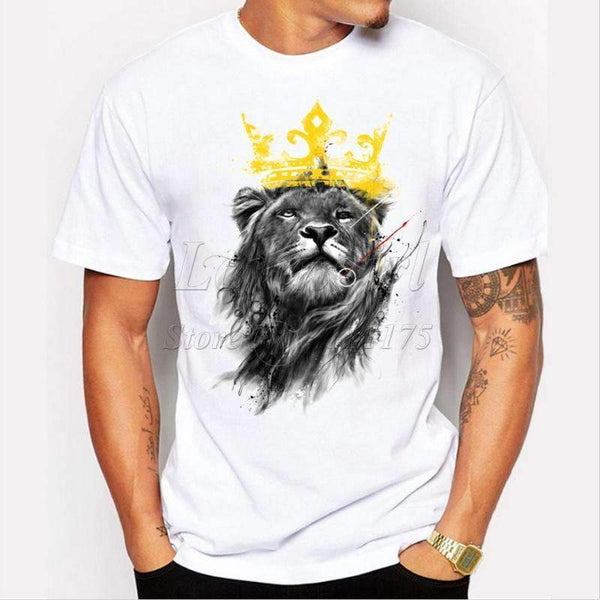 Lion King Graphic T-Shirt - FluxClothings