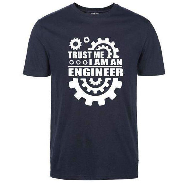 FluxClothings: Trust Me I Am An Engineer T-Shirt,dark blue / S