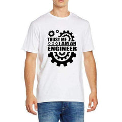 FluxClothings: Trust Me I Am An Engineer T-Shirt,White / S