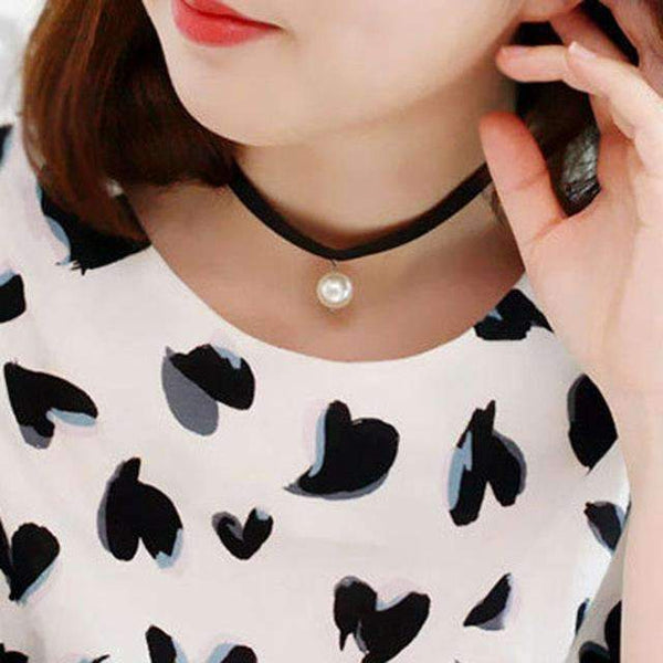 90's Choker Necklace - FluxClothings