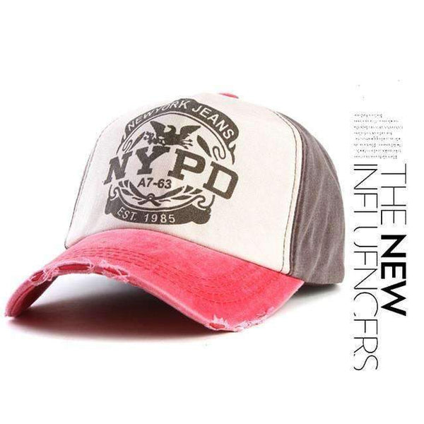 NYPD Fitted hat - FluxClothings