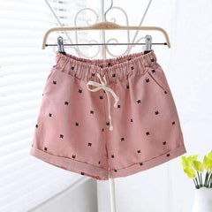 Cats Pattern Shorts - FluxClothings