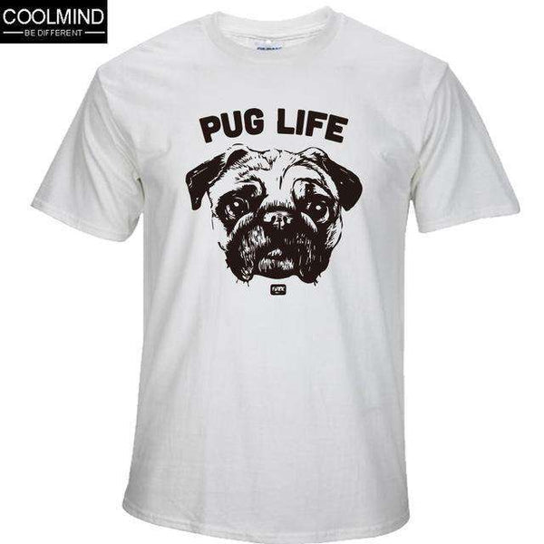 FluxClothings: cotton casual pug life mens t shirts top quality fashion short sleeve men tshirt men's tee shirts tops men T-shirt 2017 T01,BS / XS