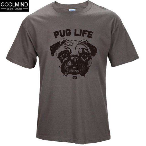 FluxClothings: cotton casual pug life mens t shirts top quality fashion short sleeve men tshirt men's tee shirts tops men T-shirt 2017 T01,TS 1 / XS