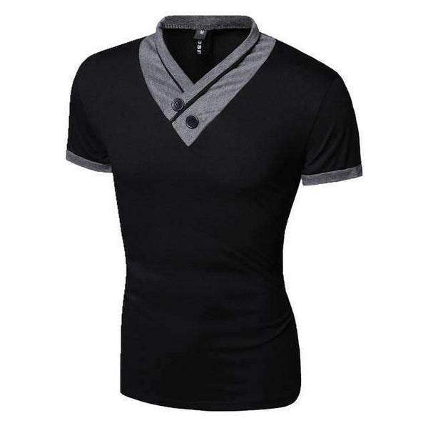 Korean V-neck T-Shirt