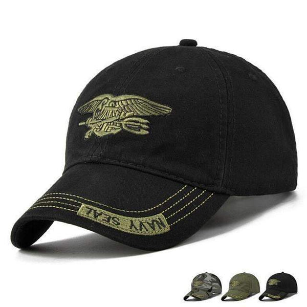 Navy Seal Fitted Baseball Cap