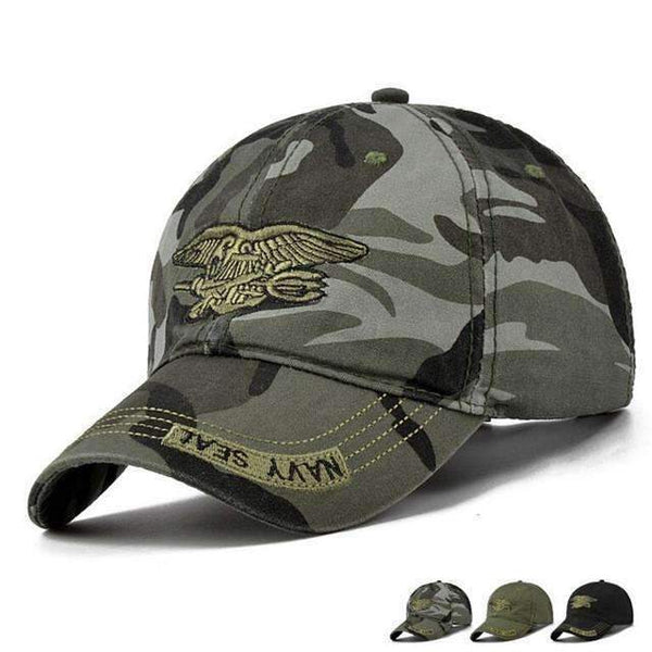 Navy Seal Fitted Baseball Cap - FluxClothings