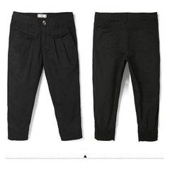 Casual Cropped Trousers - FluxClothings
