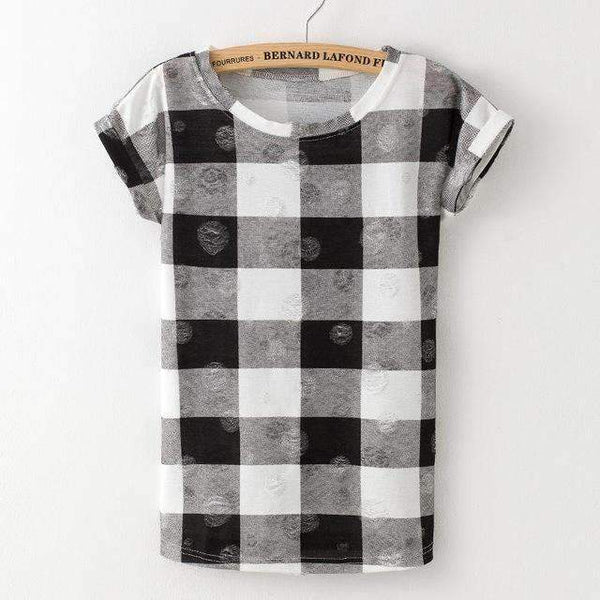 Pattern Hole T-Shirts - FluxClothings