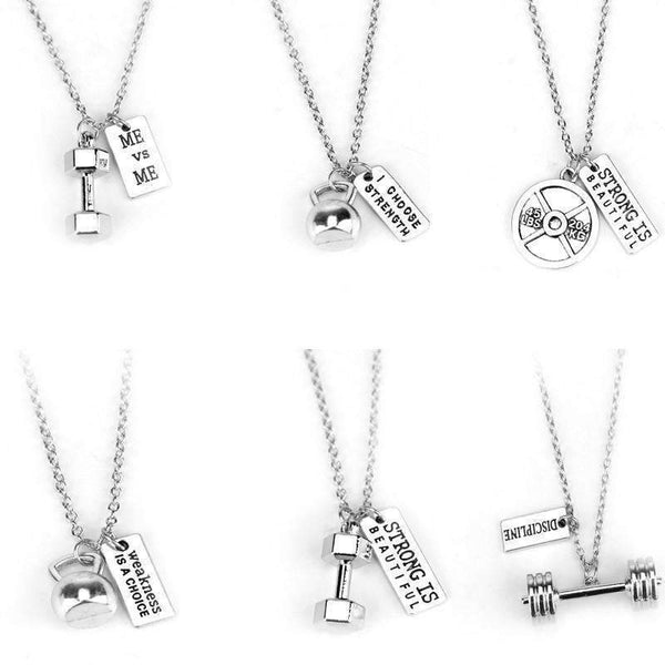 Bodybuilding Necklaces - FluxClothings