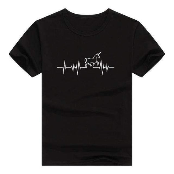 Unicorn Sound Waves T-Shirt