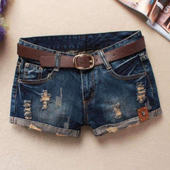 Vintage low waist denim Shorts