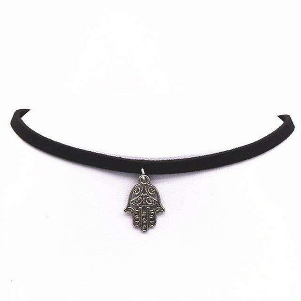 Vintage Retro Choker Necklace - FluxClothings