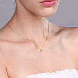 Vintage Yellow Gold and Diamond Necklace