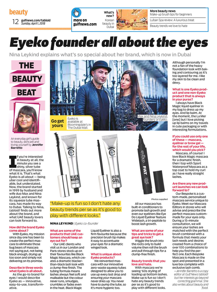 TABLOID! - Eyeko