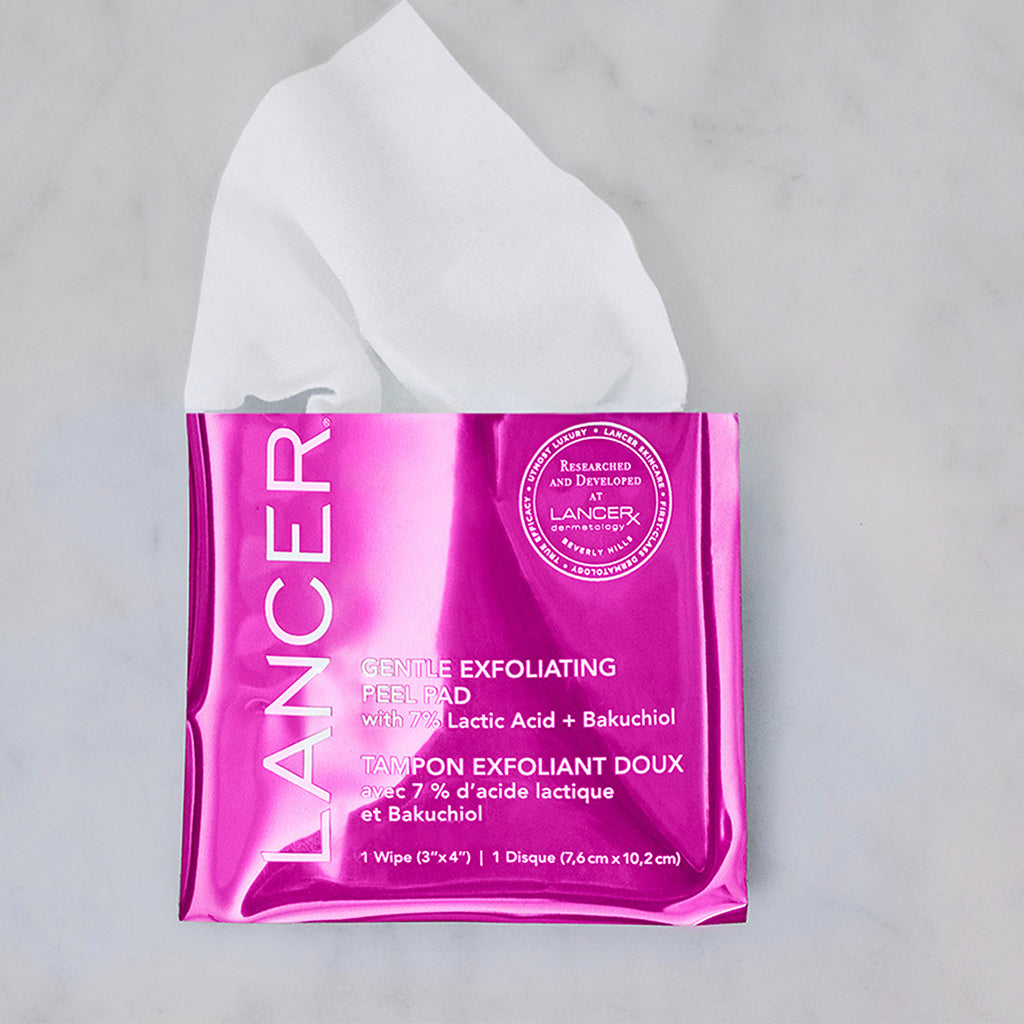 GENTLE EXFOLIATING PEEL PADS