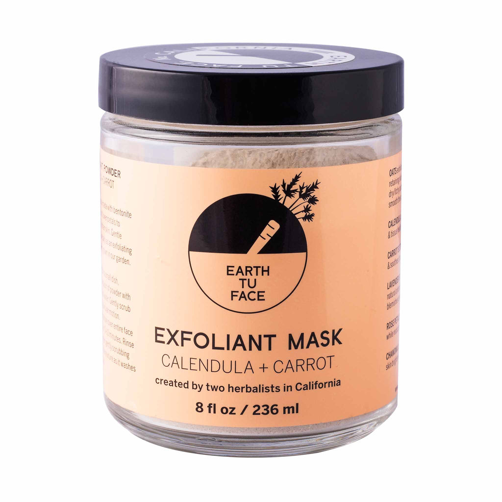 Calendula + Carrot Exfoliant Powder Mask