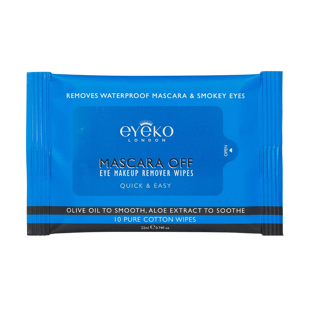 MASCARA OFF EYE MAKEUP REMOVER WIPES